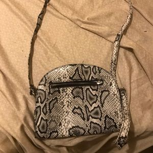 Nice Snake Skin Handbag